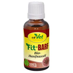 Fit-BARF Bio-Hanfnussöl 30ml