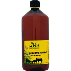TurboBronchial Trinkwasser 1 Liter