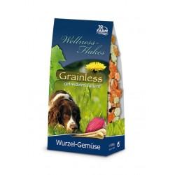 Hund Wellness-Flakes Grainless Wurzel-Gemüse