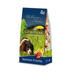 Hund Wellness-Flakes Grainless Sommer-Früchte