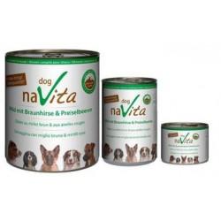 naVita dog Wild mit Braunhirse & Preiselbeeren