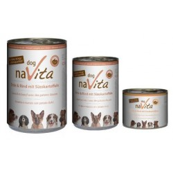 naVita dog Ente & Rind mit Süsskartoffeln
