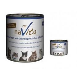 naVita cat Weissfisch mit Grünlippmuscheln & Süsskartoffeln