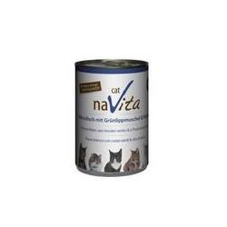 naVita cat Weissfisch mit Grünlippmuscheln & Fischöl